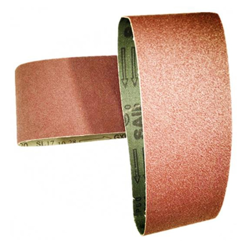 Купить с кэшбэком 3pcs Sand Abrasive Belt  76*533mm 3*21 Inches Alumina 40/80/120 Grit Grinding  Durable And Practical To Use Used In Metallurgy e
