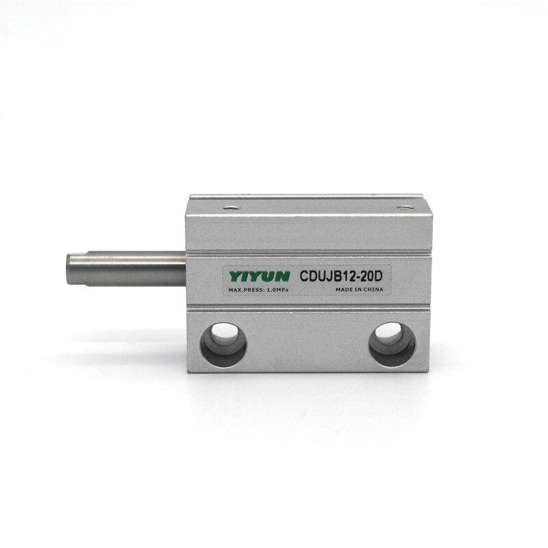 CDUJB12-4D/6D/8D/10D/15D/20D/25D/30D YIYU instalación cilindro realiza herramientas neumáticas componentes SV aire serie CDUJB