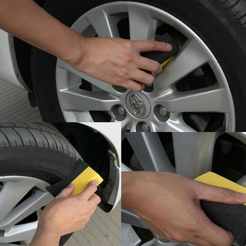 2pcs Auto U-Shape Band Wax Polishing Compound Sponge Edge Sponge Band Brush Car Sponge