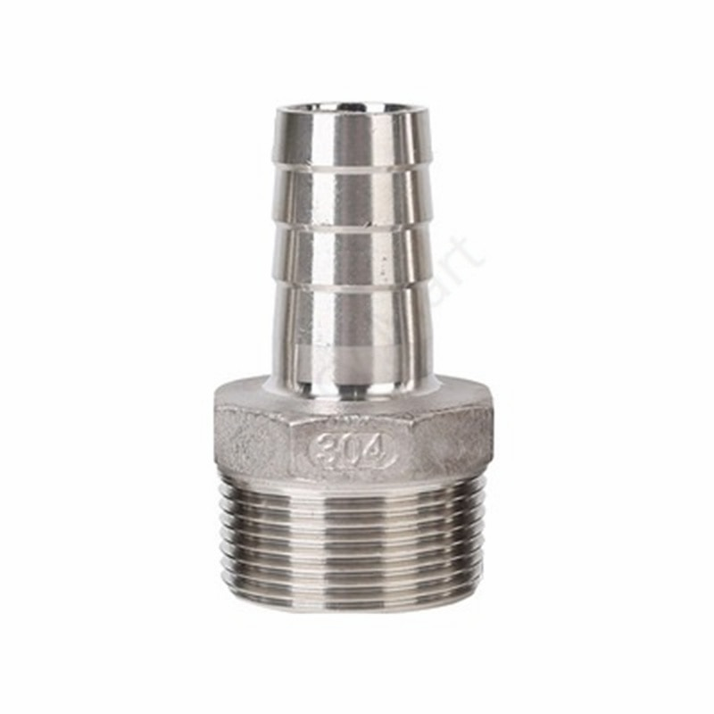 """6 8 10mm od hose barb x 1 8"""" 1 4"""" 3 8"""" 1 2"""" 3 4"""" 1"""" bsp male thread stainless steel barbed pipe fitting connector coupler ada 6/8/10mm OD Hose Barb x 1/8""""  1/4"""" 3/8"""" 1/2"""" 3/4"""" 1"""" BSP Male Thread Stainless Steel Barbed Pipe Fitting Connector Coupler Ada"""