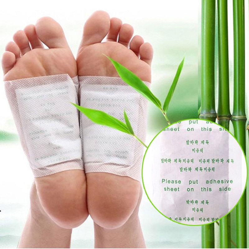 AliExpress - 10/20pcs Body Detox Foot Patch Feet Care Pads Detoxifying Foot Patches With Adhesive Cleansing Improve Sleeping Slim Foot Patch