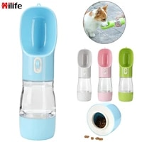 dog water bottle portable pet for dogs food water feeder drinking bowl pets water feeder dispenser for small dog pet accessories