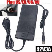 Chargeur de batterie au Lithium de vélo électrique 42V3A pour batterie au Lithium 36V connecteur de prise RCA chargeur 42V3A