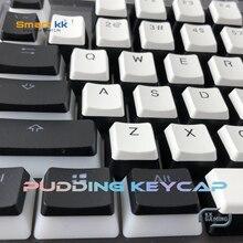 Kkgaming pouding pbt Doubleshot keycap oem profil rétro-éclairage Keycaps pour clavier mécanique 104 touches bricolage accessoires