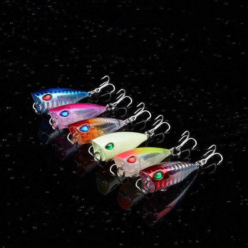 3.6G 2020 Popper Kunstaas Voor Vissen Lokt Karper Crankbait Drijvende Pike Bass Wobbler Aas Mini Meerval Popper Merrie Gay sex Aas