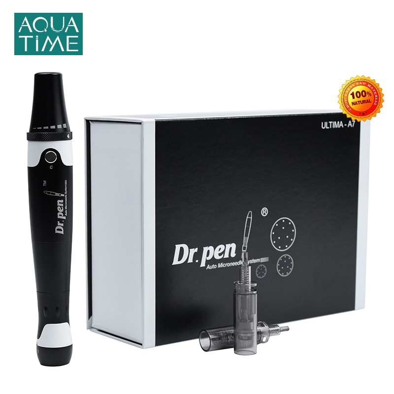 Electric Dr. Pen Ultima A7 For Professional Pen mesotherapy Tool With Needles MTS Microneedle Skin Therapy System Beauty Machine