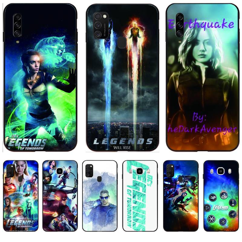 Legends Of Tomorrow Phone Case For Samsung M10/20/30/21/30S J4 2018 J4/J6 Plus A91 S10Lite Cases