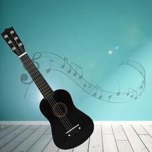21/23 pouces bois massif 6 cordes guitare acoustique pratique Mini guitare acoustique à cordes pour enfant débutant à domicile-scolarité
