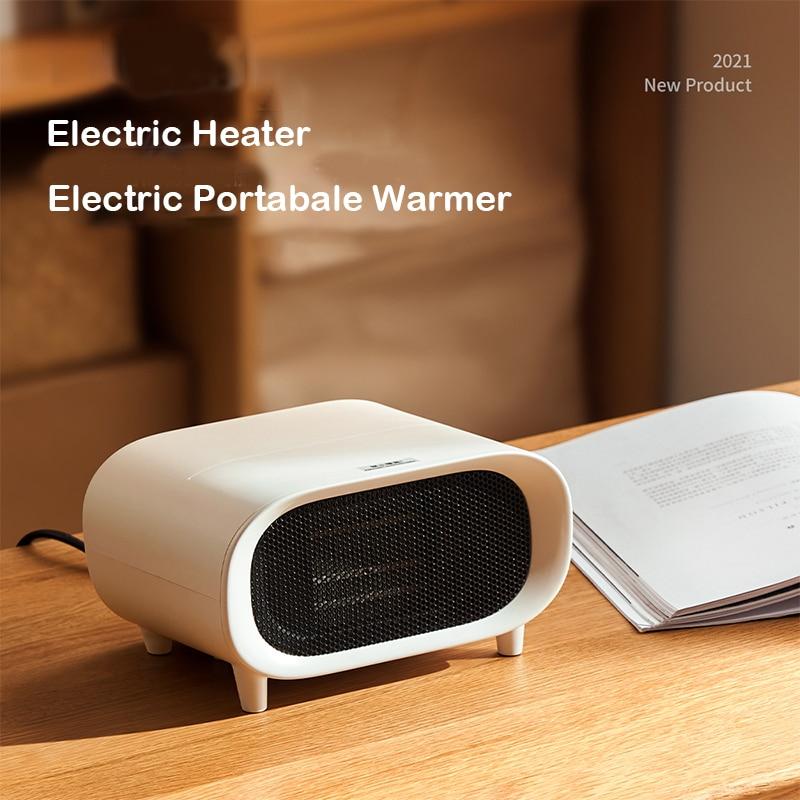 RIGOGLIOSO электрический обогреватель для дома, теплые обогреватели для спальни PTC керамический нагревательный элемент маленький тепловентиля...