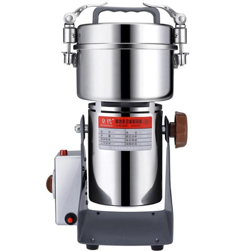 مسحوق آلة 800g مطحنة التوابل الكهربائية الحبوب طاحونة سوينغ الحبوب القهوة الغذاء كسارة
