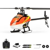 f180 6ch 3d 6g system dual brushless direct drive motor flybarless w s fhss rc helicopter aircraft bnfrtf model vs e180