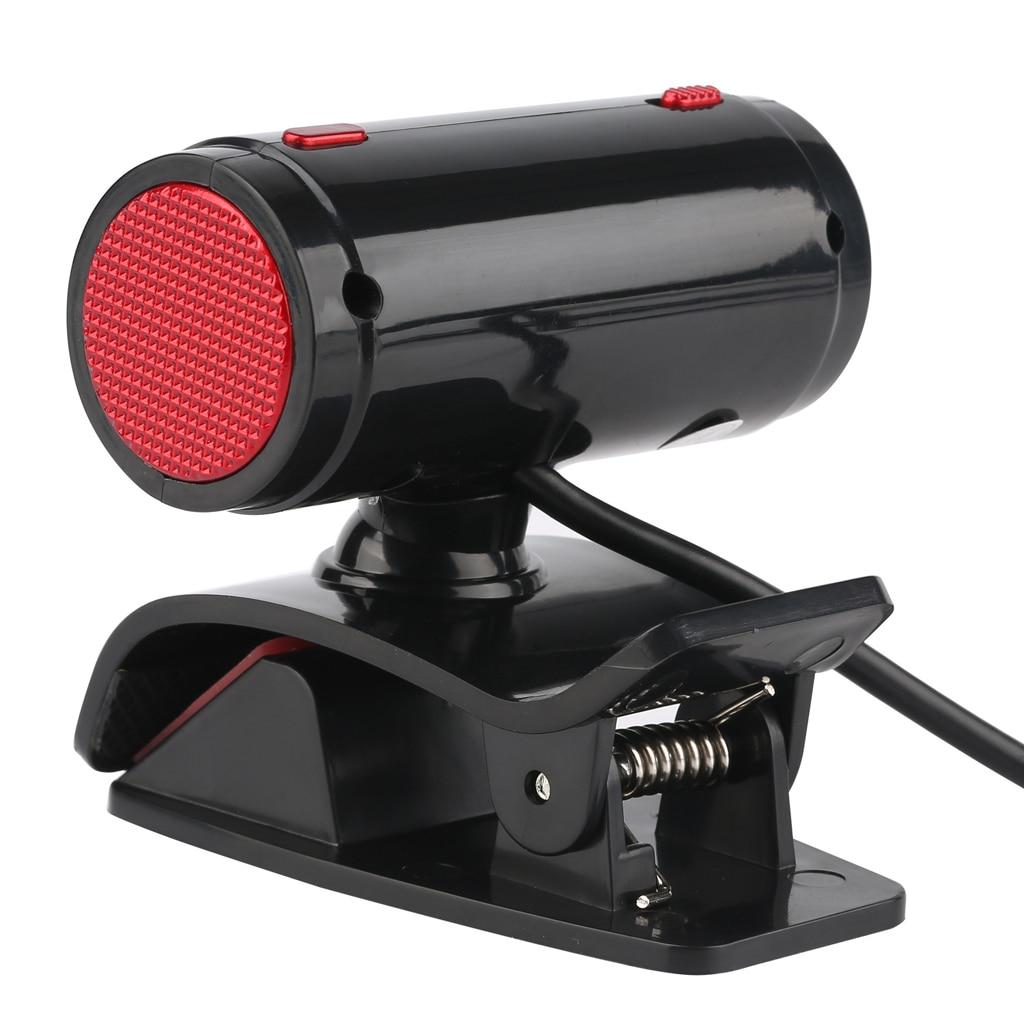 720P PC Webcam Camera Video with Mic 4 LED for Skype Desktops Teaching A7260B HD 720P computer video camera Webcam enlarge
