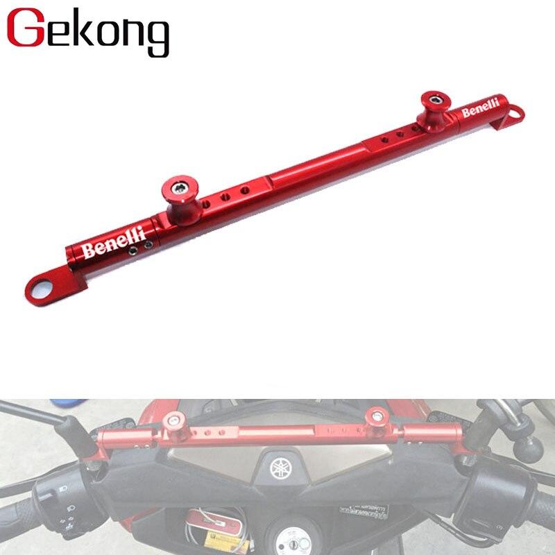 Ajuste para Benelli BN600 BN 600 TNT600 BJ300 BJ500 Jinpeng 502, accesorios para motocicleta, amortiguador de dirección de aluminio CNC, palanca para equilibrar