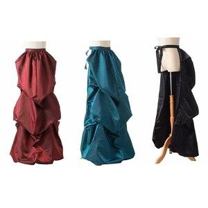 Steampunk Gothic Bustle Skirt Victorian Burlesque Costume Elizabeth Cosplay Accessory