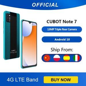Cubot Note 7 смартфон AI тройные камеры 13 МП Поддержка Распознавания лица 5,5