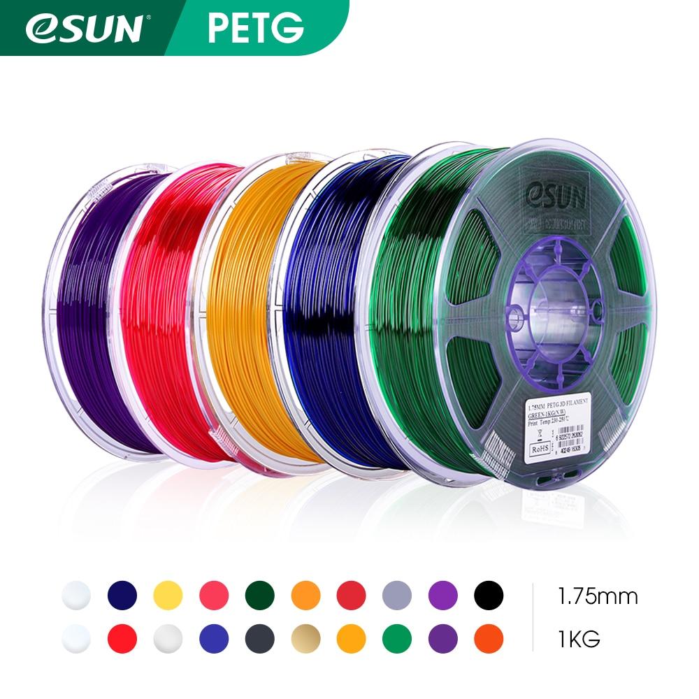 AliExpress - eSUN PETG Filament 1.75mm,3D Printer Filament PETG Accuracy +/- 0.05mm,1KG 2.2LBS Spool 3D Printing Materials for 3D Printers