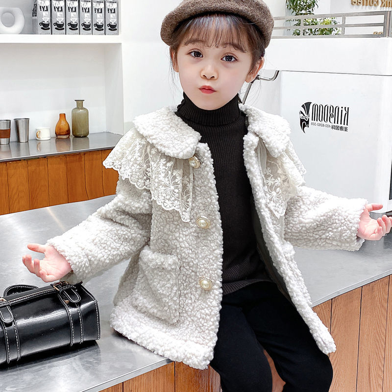 2021 Autumn Winter Girl Jacket Thick Warm Kids Clothes Children Jacket For Baby Girls Outerwear Toddlers Fashion Outerwear D93 enlarge