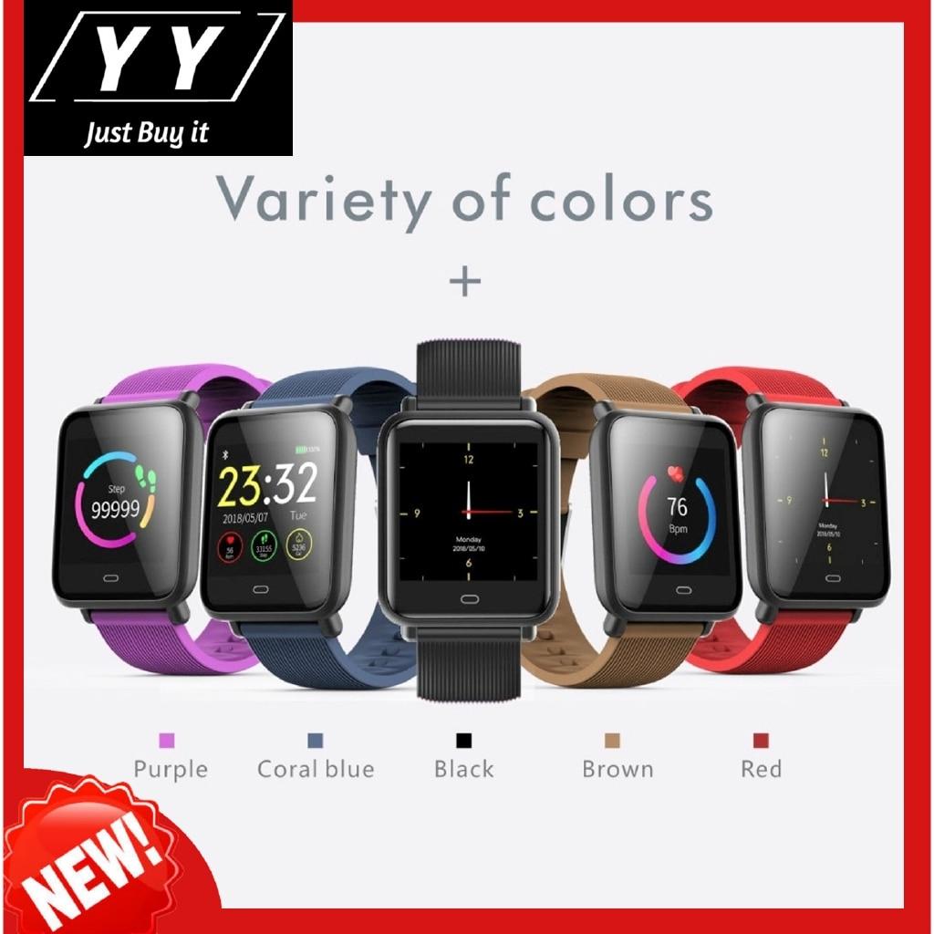 ¡Caliente! Reloj inteligente Q9 Monitor de ritmo cardíaco durante el sueño pulsera IP67 impermeable Deporte Fitness Trakcer hombres mujeres Smartwatch