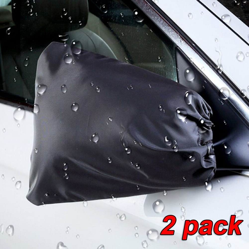2pcs/set Auto Car Rearview Mirror Cover Waterproof Windproof Side Exterior Accessories Frost Snow Ice Winter Guard