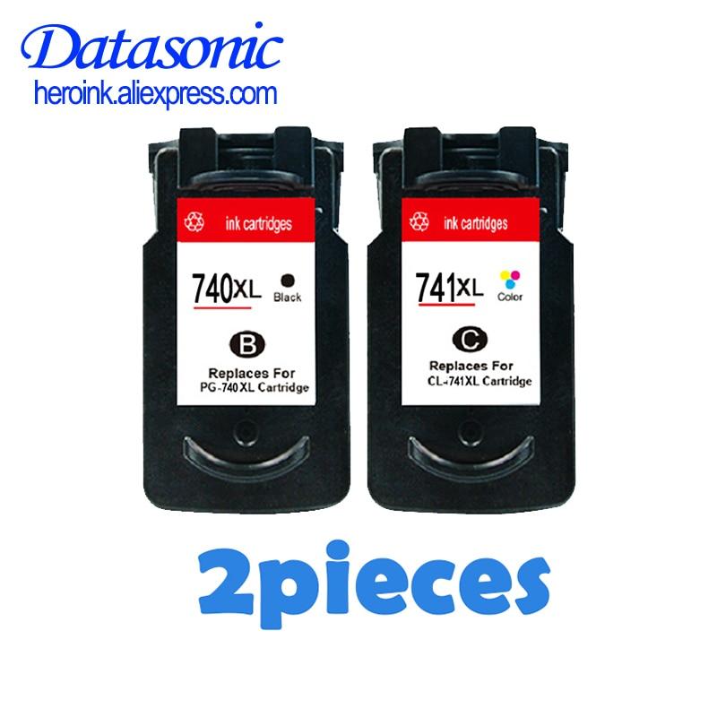 Datasonic PG-740 CL-741 خراطيش الحبر لكانون PG 740 CL 741 PG740 CL741 لكانون Pixma MX517 MX437 MX377 MG4170 MG3170