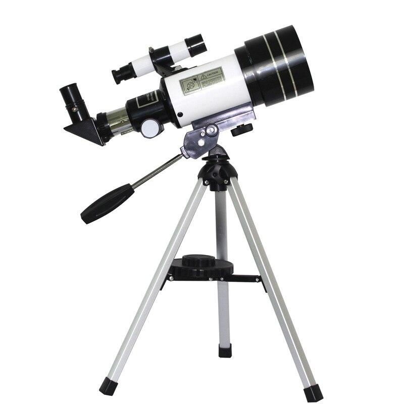 Angular para Crianças e Iniciantes Telescópio Astronômico Visão Noturna Grande Observação Lunar Monocular F30070 150x