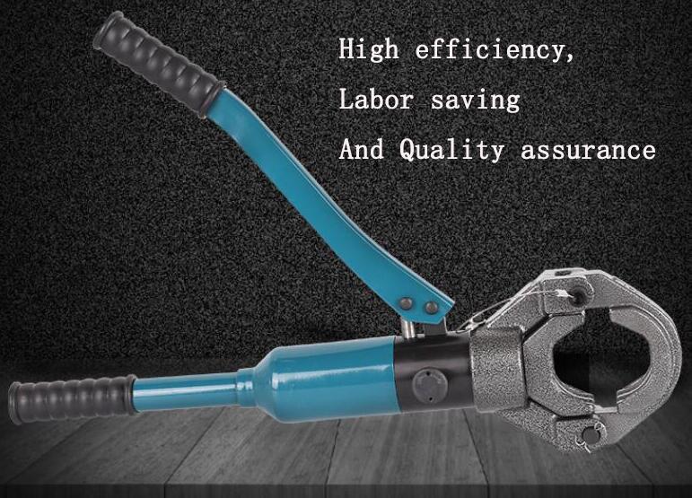 Hydraulic tongs for acoustic tube/Acoustic pressure pipe tongs/Hand Pipe clamp PIPE diameter 45/48/50/54/57/60mm enlarge