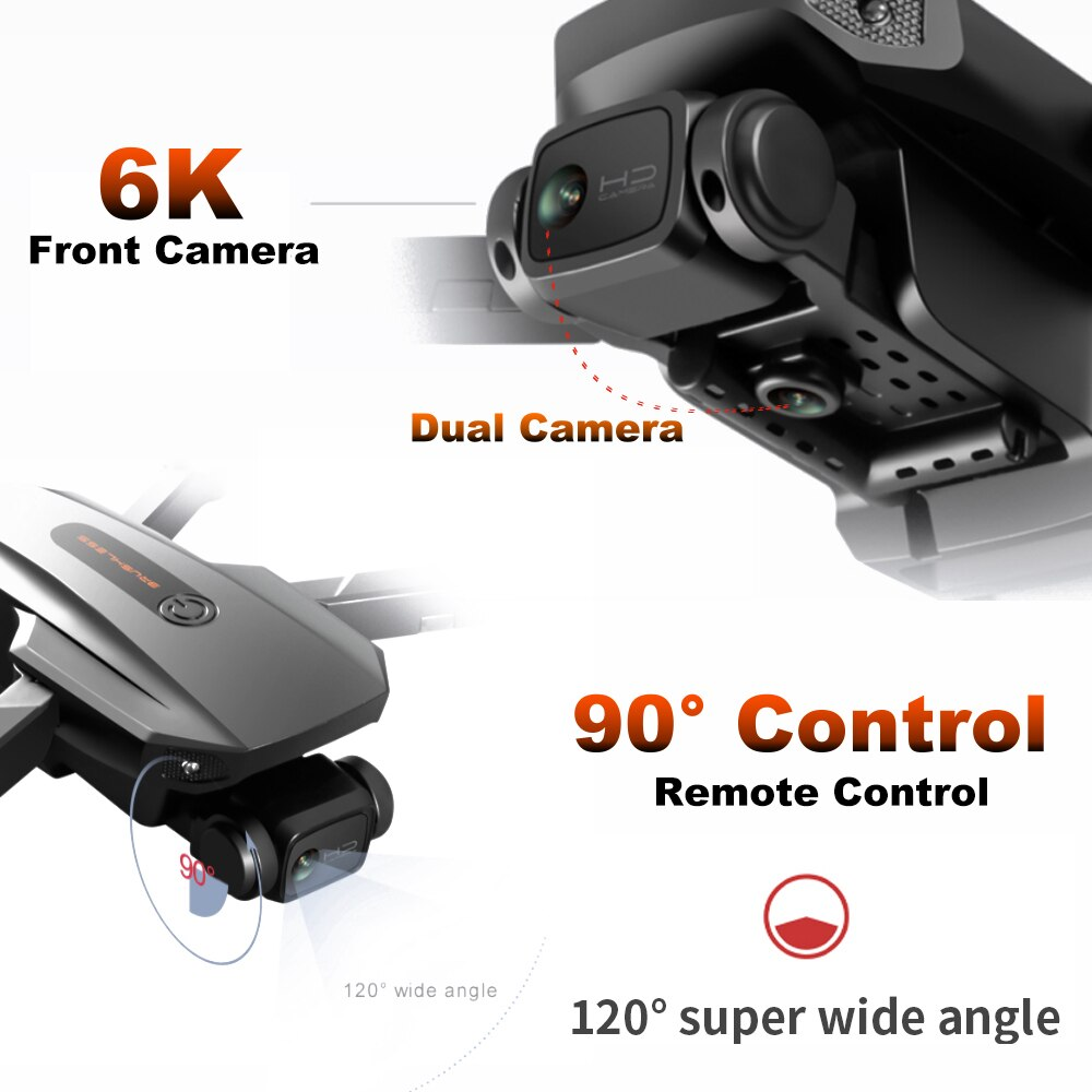 RC Camera Drone 6K GPS Anti Lost Professional Brushless 5G WiFi FPV Real Time Image 1.2KM Long Distance Quadcoper Dron RG101 enlarge