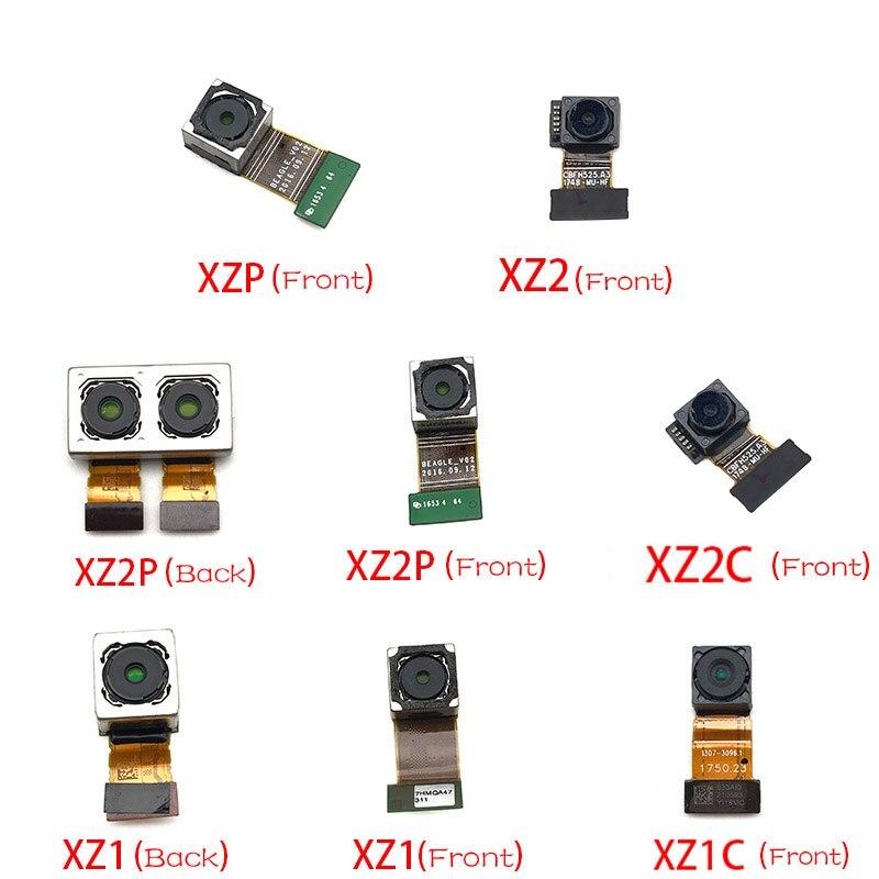 Nueva cámara frontal flexible con módulo de cámara trasera Cable flexible para Sony Xperia XZ XZ1 Compact XZ2 Premium XZ3