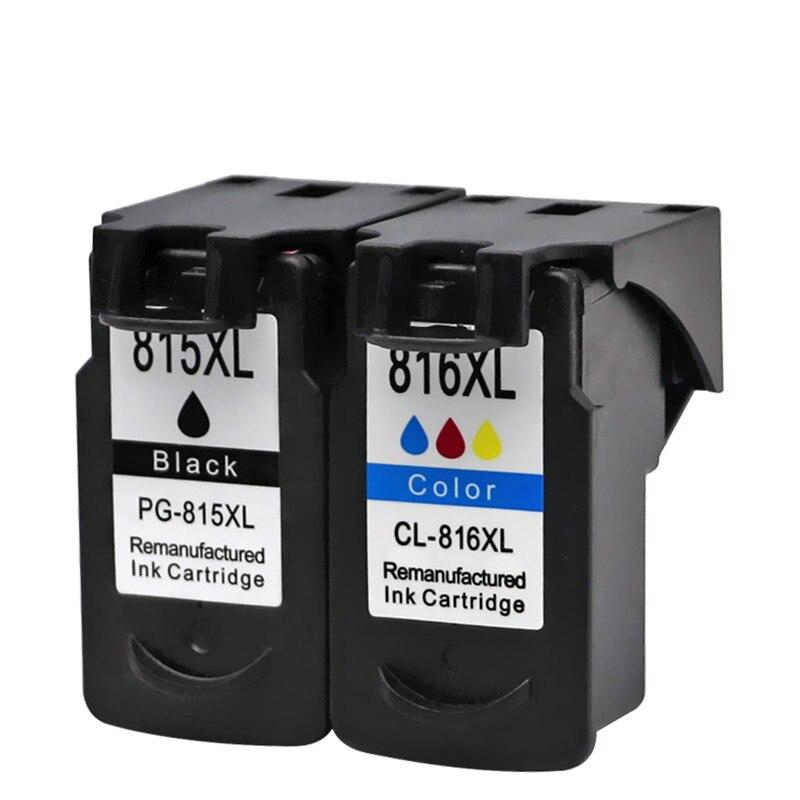 Cartuchos de tinta para PG-815 XL PG-815XL PG815 Pixma IP2780 MP236 MP259 MP288 MX348 MX358 MX368 impresora de inyección de tinta