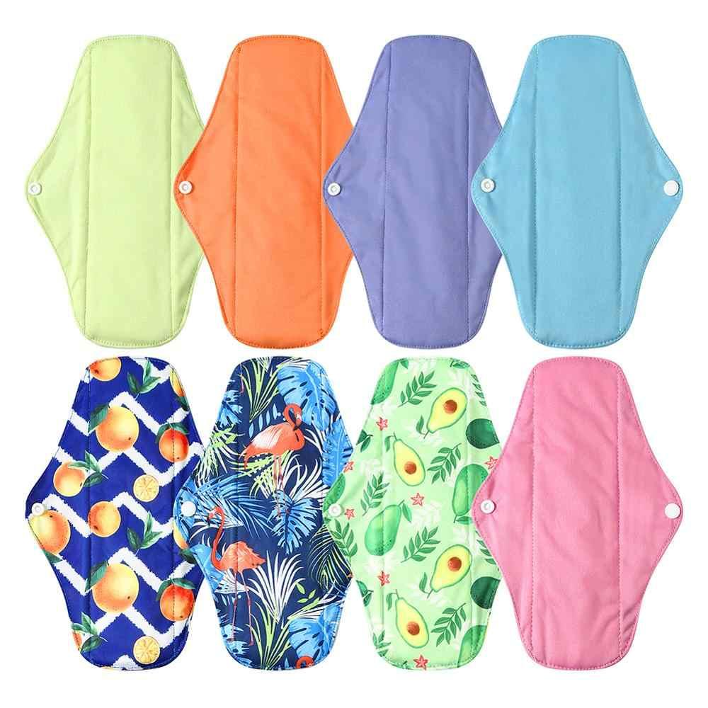 Ohbabyka Reusable Pads Bamboo Charcoal Pads Sanitary Pads Washable Panty Liner Mama Maternity Menstrual Cotton Pads Maternity Pads Aliexpress