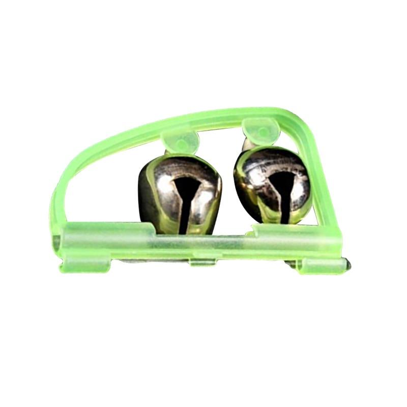 Alarma de campana de pez W Worldwide, revestimiento de Metal de plástico y Zinc, dispositivo de señal ajustable, alarmas de cebo, accesorios de caña de pesca en el océano
