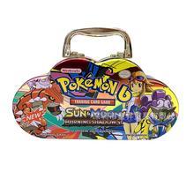 Pokemon Portable tin 102pcs/set  box TAKARA TOMY Battle Toys Hobbies Hobby Collectibles Game Collection Anime Cards for Children