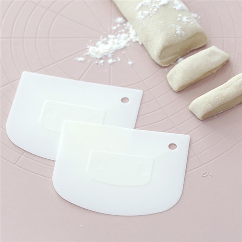 1 conjunto de herramientas para pasteles 4 Uds de mantequilla rascadores masa...