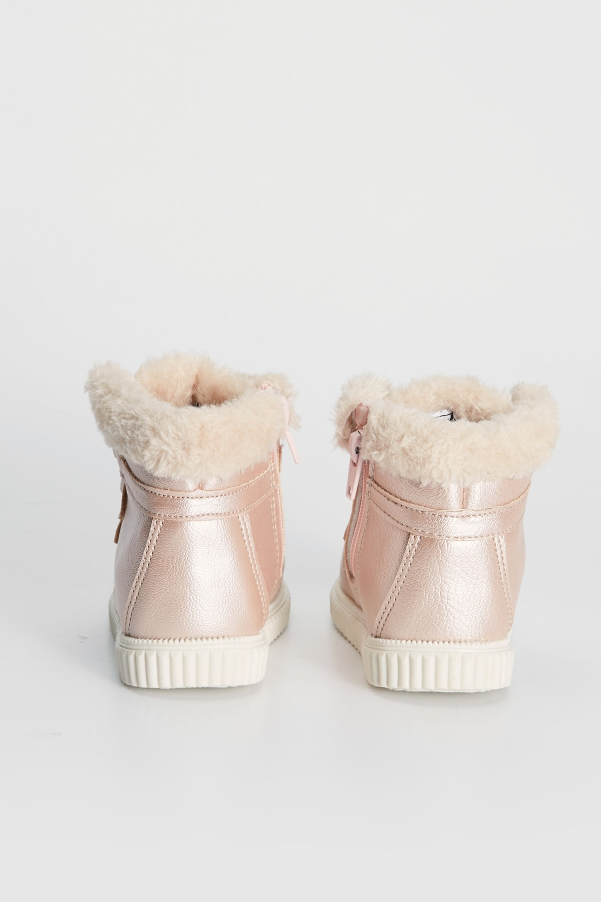 New Winter Kids Snow boots Keep Warm Girls School Girls Pink Plush Thickening Raining Boots 1-3-8-15 years old Free Shipping enlarge
