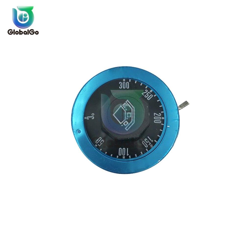 30-110 ℃ 50-300 ℃ 220VAC 16A controlador de temperatura interruptor de expansión líquida termostato interruptores de Control de temperatura 3pin