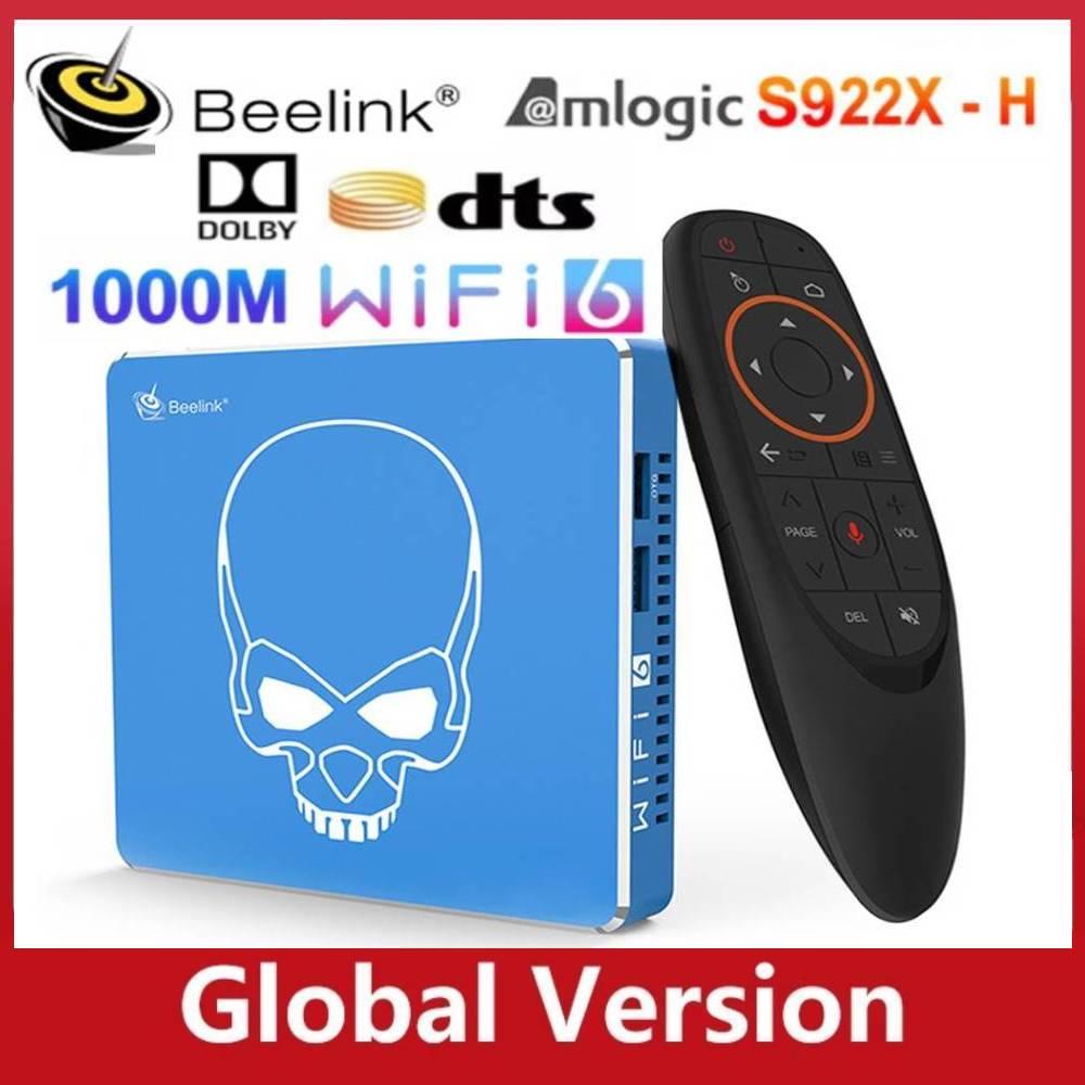 2021 Beelink GT King Pro WiFi 6 TV BOX Android 9.0 Amlogic S922X-H Quad  Core 4GB 64GB 4K Dolby Audio DTS BT5 1000M Smart TV BOX - Sunaxini - 872517  - kusnehcel.id