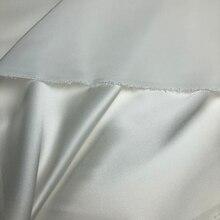 Vraie soie 22 MM hors blanc Spandex Satin soie robe tissu couture accessoires Stretch tissus pour coudre des vêtements au mètre