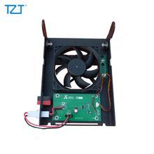 TZT Radio support de montage ventilateur de refroidissement pour Xiegu G90 G90S voiture talkie-walkie Amateur ondes courtes Radio