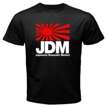 Jdm Japan Domestic Market Symbol Logo Mens Black Size S-3Xl Usa Size T-Shirt En1 Adults Casual Tee Shirt