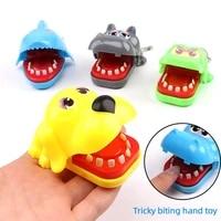 hand biting shark biting finger toy biting hand crocodile small hand biting toy tricky new strange toy