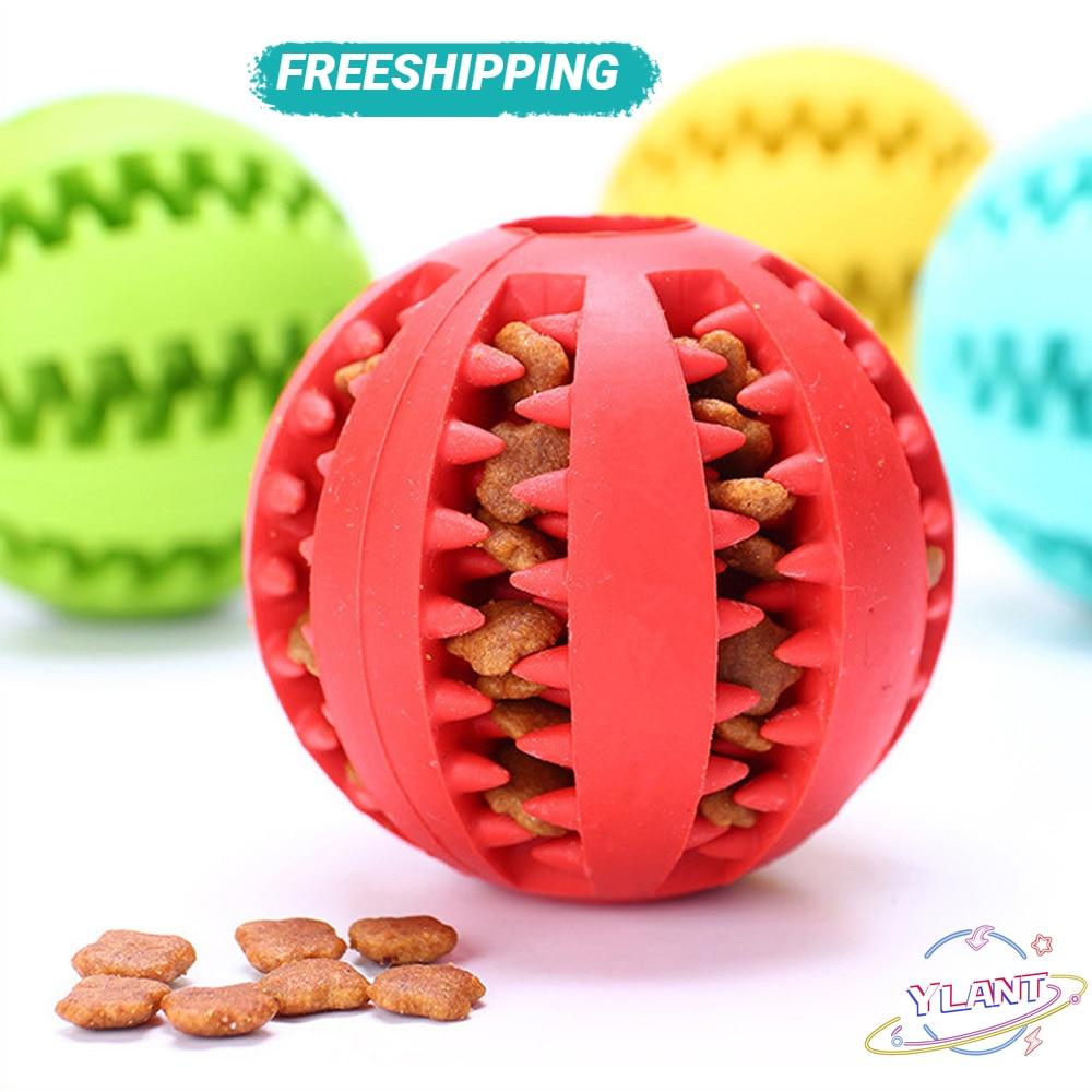 Bola De Limpieza De Dientes Para Perros, Bola De Limpieza Para Perros, Resistente, Interactiva, elástica, Masticable