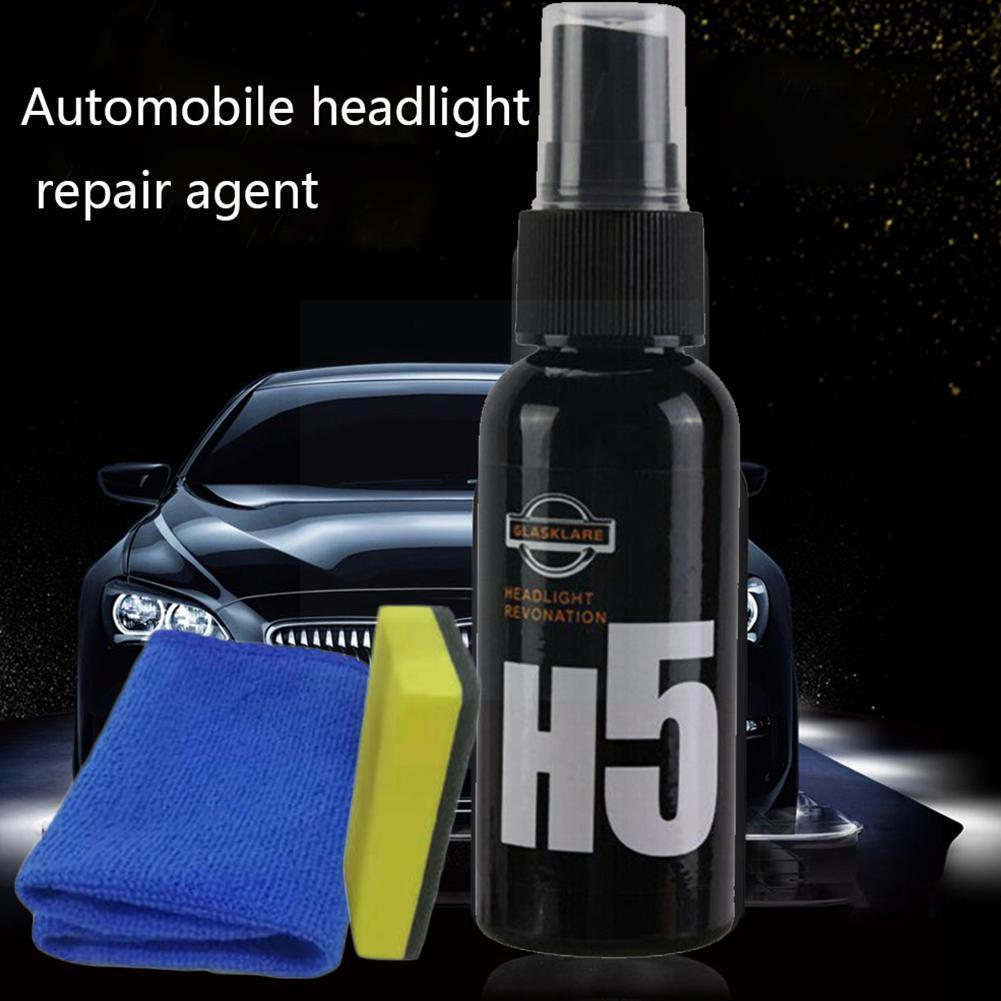 50 мл средство для ремонта автомобильных фар H5 ремонт автомобильных фар против царапин Инструменты для ремонта и обслуживания автомобиля Жи...