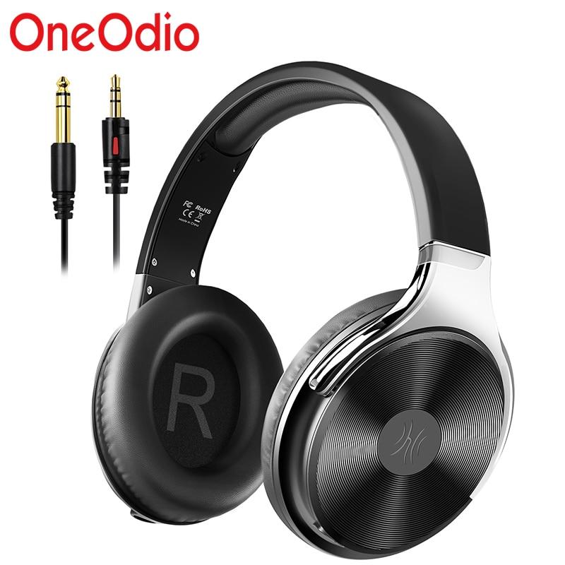 Oneodio Studio مرحبا فاي السلكية سماعات عالية الوضوح الصوت فوق الأذن السلكية سماعة رأس مزودة بميكروفون مغلق الظهر HIFI سماعات