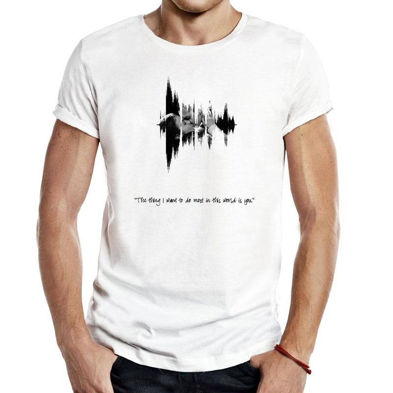 Onda de sonido WayHaught lo que más quiero hacer... Es usted hombres Unisex camisetas Wayhaught Nicole Haught Waverly Earp moda