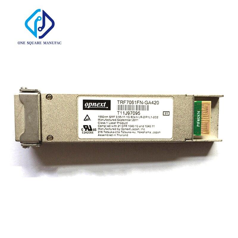 Opnext TRF7061FN-GA420 9.95-11.1G 1550nm 80 كجم SMF البصرية وحدة LR-2/P1L-202 XFP الألياف البصرية الإرسال والاستقبال