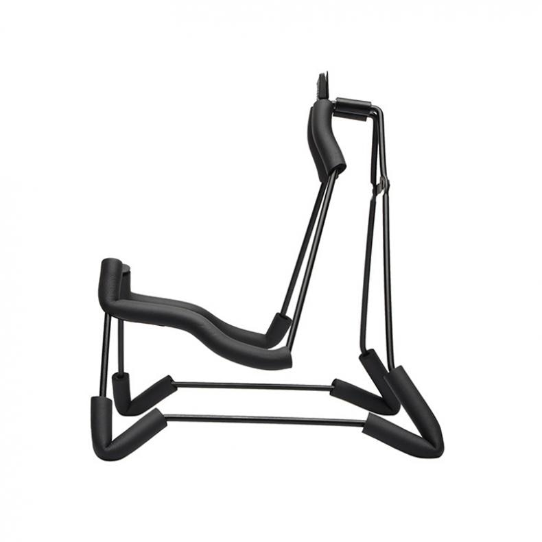 Guitar Stand Aluminum Alloy Folding Guitar Stand Concise Style Soft Sponge Steel Frame Holder for Acoustic Classic Guitar enlarge