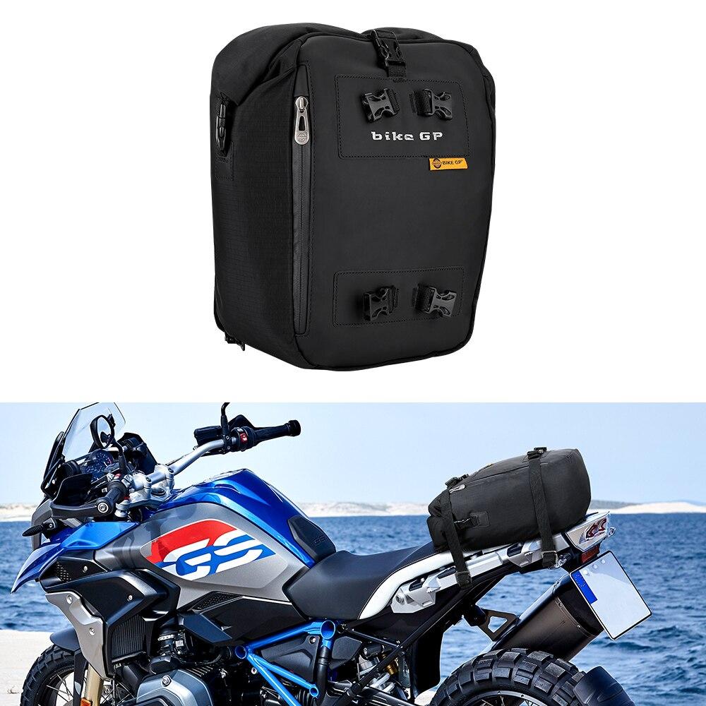 Motocicleta bolsas bolsa impermeable trasero para motocicleta 30L Multi-función mochila Universal para MT07 MT09 R1 R3 R1200GS F800GS ADV-