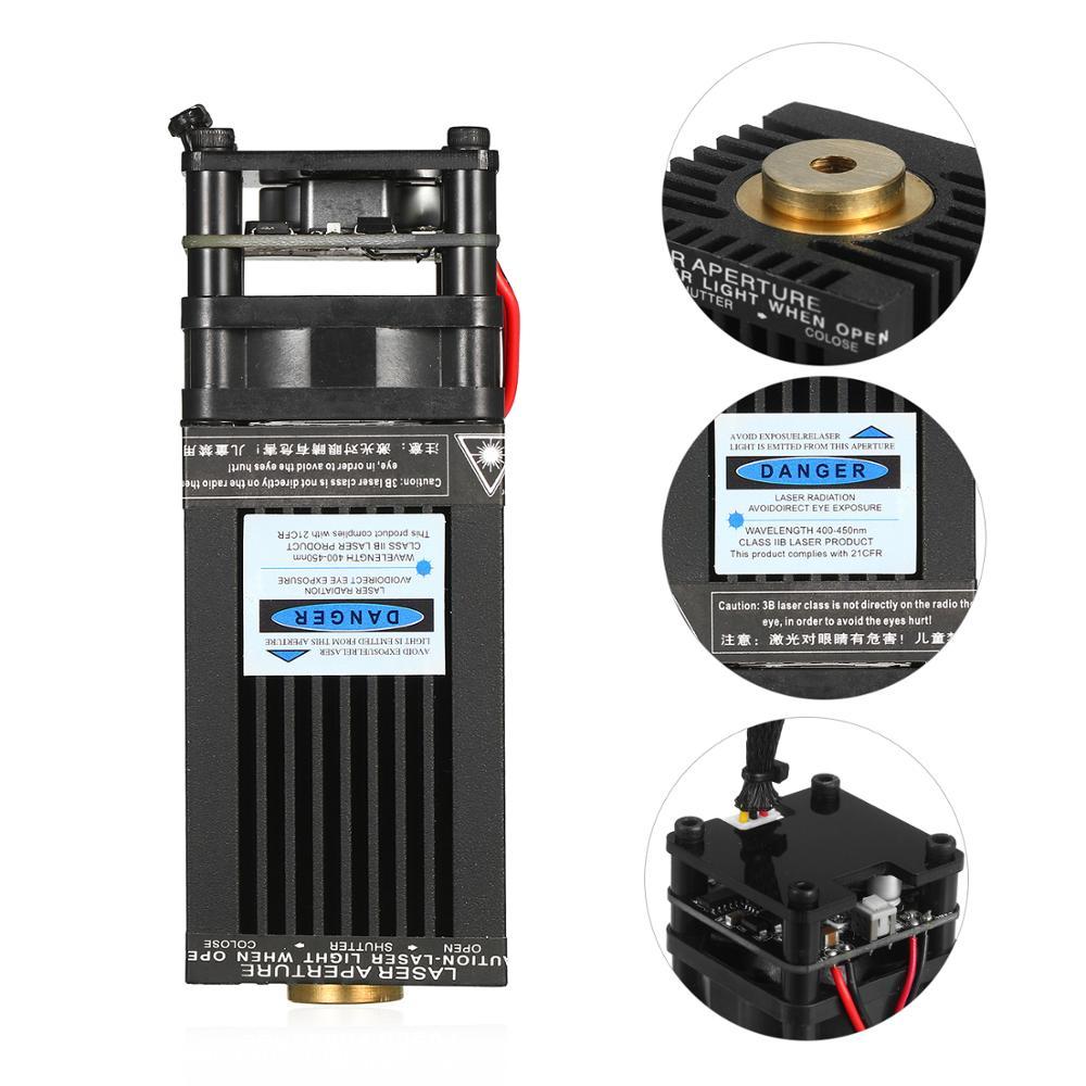 5500mW/10W/20W/30W Laser Module Laser Head 450nm Blue Lase for 3D Printer CNC Mill Engraving Machine