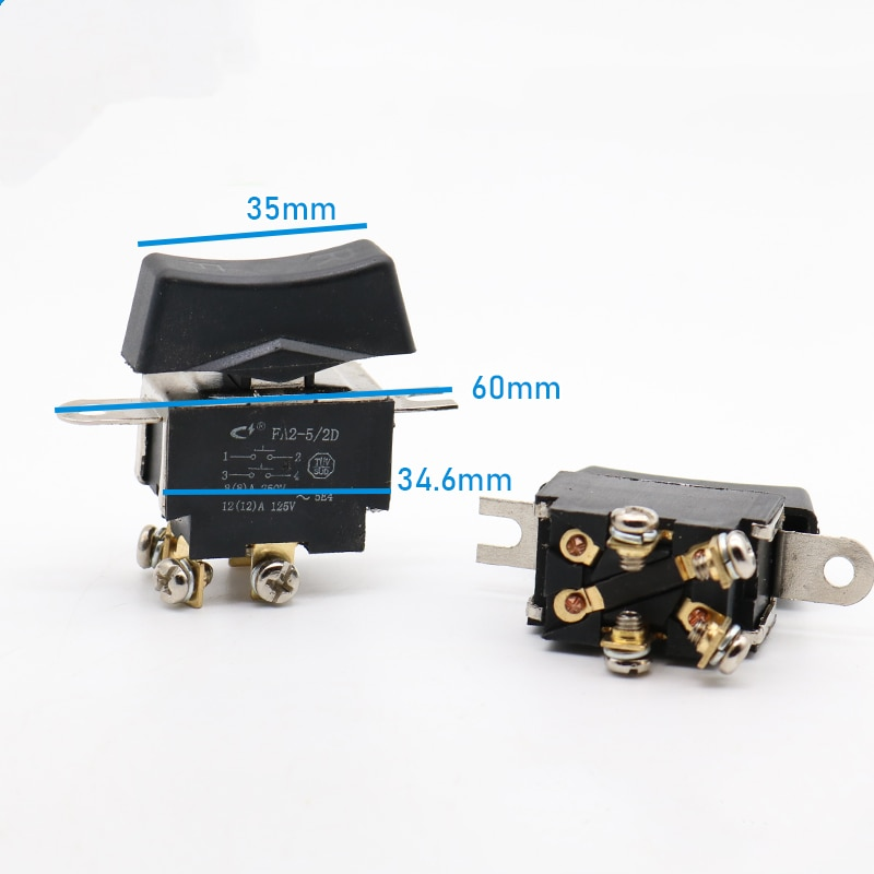 AC220V Switch For Electric Power Wrench Electromotion Spanner Good Quality Power Tools Spare Parts Accessories