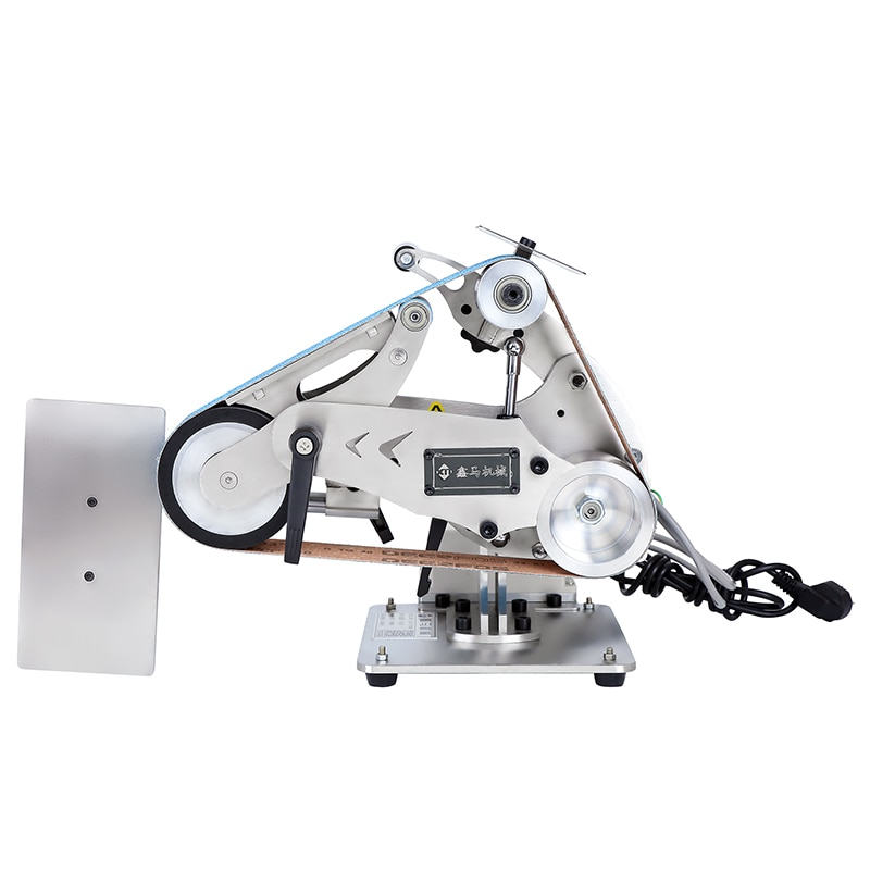 Upgraded vertical and horizontal industrial grade sanding belt machine all-in-one polishing machine Wenwan sanding machine
